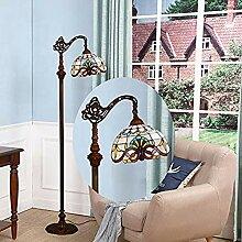 WRMING 12W LED Tiffany Stehlampe