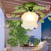 WRMING® Modern Blumendekor Deckenleuchte