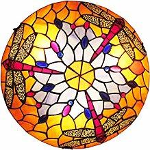 WRMING Tiffany Stil Deckenleuchte, Deckenlampe