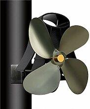 WRMING Wohnzimmer kaminventilator Ohne Strom für