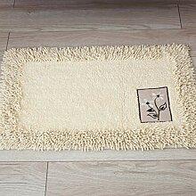 WRQ Bodenmatte Fußmatte, Chenille-Matte,