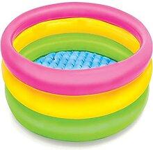 WRYBO DREI-Ring-Familien-Planschbecken Schwimmbad