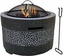 WSCQ 3 in 1 Feuerstelle Grill, Multifunktional