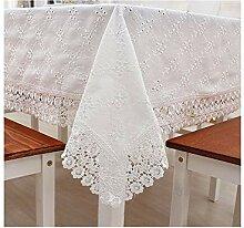 WSEB Tischdecke Baumwoll-Tischdecke Hochzeit