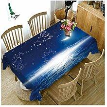 WSEB Tischdecke Baumwolltischdecke Muster