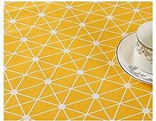 WSEB Tischdecke Geometrische Tischdecke Tischdecke