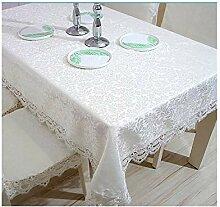 WSEB Tischdecke Hochzeit Tischdecke Bestickt