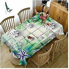 WSEB Tischdecke Papierblumenmuster Hochzeit Party