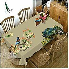 WSEB Tischdecke Wasserdichte 3D-Tischdecke Mit
