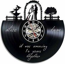 WSEB Uhr Wanduhr Home Romantische