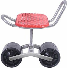 WSEG Rollender Gartenwagen mit Rädern