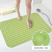 WSGYX Bad Duschmatte Toilettenmatte