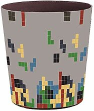 WSHFHDLC Mülleimer mit Deckel, automatischer