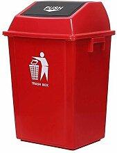WSHFHDLC Mülleimer mit Deckel, Mülleimer für