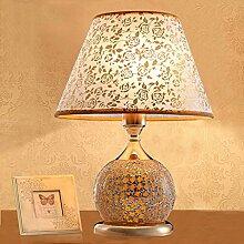 wshfor Moderner Stil Qualitäts-Glastisch Lampe,