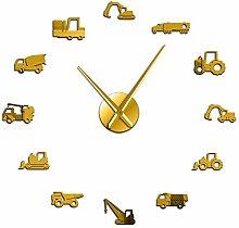 WSHH Uhr Modern DIY Riesen Wanduhr Schweres Gerät