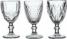 WSHP-goblet Kelch Becher Weinglas 3 Teile/Satz