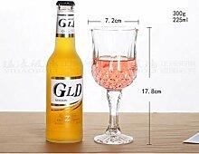 WSHP-goblet Kelch Becher Weinglas Bleifreies Glas