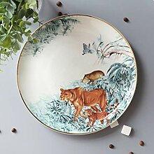 WSHP-plate Teller Speiseteller Besteck Fangqi