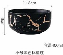 WSHP-plate Teller Speiseteller Besteck Gold Marmor