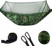 WSJ Camping-Hängematte mit Moskitonetz –
