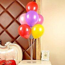 WSJQQ 70 cm Kunststoff Ballon Stick DIY Desktop