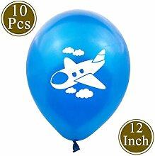 WSJQQ Flugzeug Latex Ballons Für Childern Happy
