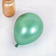 WSKRNGEY Party Luftballons,100 Pcs 5-Zoll Metall