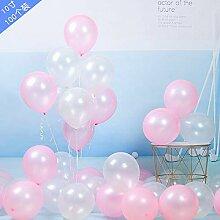 WSKRNGEY Party Luftballons,100 STK 10 Zoll