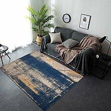 WSLTH Wohnzimmer Teppich New Chinese Leinen Tinte