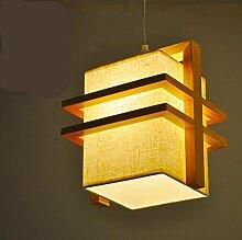 WSND Amerikanische Kreative einfachen Holz Glas-Deckenleuchte Cafe Bar Wohnzimmer Korridor Deckenleuchte , 1