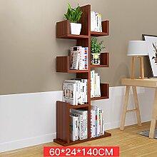 WSWJJXB Einfaches Bücherregal Bücherregal