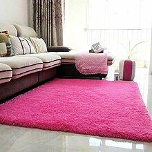 WSX Dicke rechteckige Teppiche Couchtisch