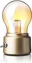 WSXX Birne Lampe LED Nightlight Seltsame Glas