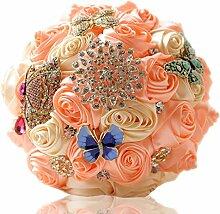 WT Brautstrauß Hochzeit Blumenstrauß Weiß
