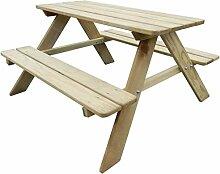 WT Trade Premium Kinder-Picknicktisch Holz
