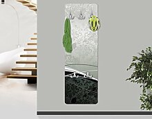 WTD 67531 Design Garderobe MDF Holz Swinging Baroque