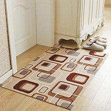 WTL Teppich Die Tür in die Türmatte Matten ( Farbe : A , größe : 80*120cm )