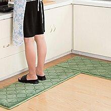 WTL Teppich Teppich Tür Küche Badezimmer mit Schlafzimmer Sliver Pad Kind Badezimmer Türmatten Badematten ( Farbe : A , größe : 40*120cm )