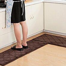 WTL Teppich Teppich Tür Küche Badezimmer mit Schlafzimmer Sliver Pad Kind Badezimmer Türmatten Badematten ( Farbe : C , größe : 40*60+40*120cm )