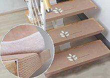 WTL Teppich Treppenauflage / rutschfeste, selbstklebende Treppenauflage ( Farbe : 2*(A Set Of Three) )