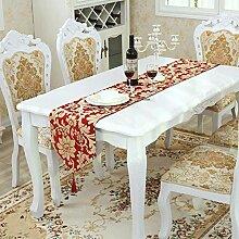 WTL Tischfahne Pflanze Blumen Mode Luxus