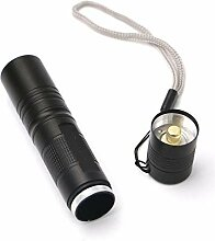 Wtmd Taktische Taschenlampe, 5 Modi, 1000 Lumen,