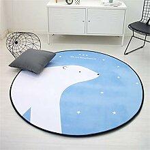 WTOKL Carpet Cartoon Runde Langsam Rebound Mat