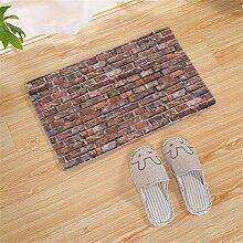 WTOKL Carpet Steinmuster Wohnzimmer Schlafzimmer