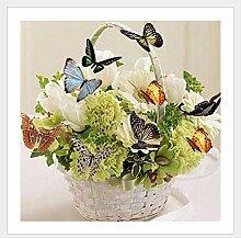 wtxinyang Diamant Malerei Schmetterling Korb