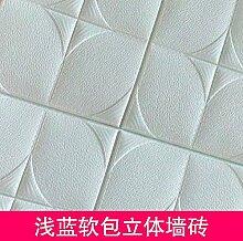 WU-Wall Sticker 3D Foam Ziegel weichen Fliesen-