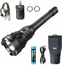 WUBEN T101 LED Taschenlampe 3500 Lumen Super Helle