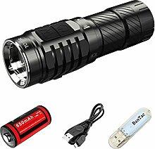 WUBEN TO10R EDC Taschenlampe 650 Lumen HCRI kleine