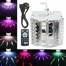 Wuchance 18W LED RGB Sound aktiviert DMX512